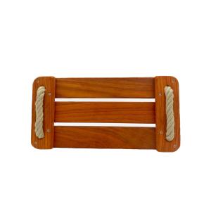 Balançoire en bois sur-mesure