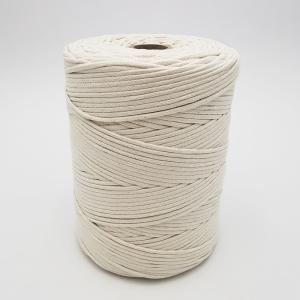 Cordon trenzada de algodón