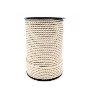 Cuerda y cordón de algodón con carrete cableado de 100m