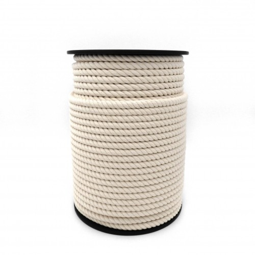 Rope and cord cotton cabled spool 100m