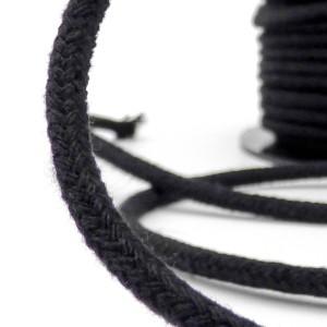 Ganse Coton avec Âme Naturelle 2mm bobine de 100m
