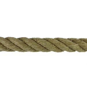 Cuerda de cáñamo pulido 8mm carrete 100m