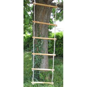 Échelles de Cordes en Bois - Gamme Tradition