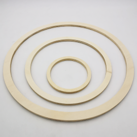 Lot Cercles en Bois - 3 pcs
