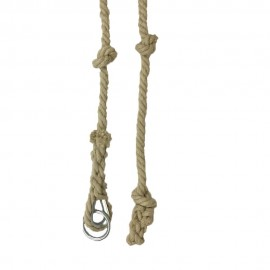 Knotted Hemp Climbing Rope