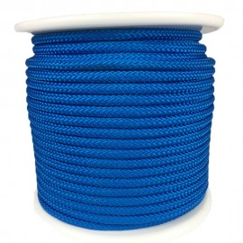 Blue Polypropylene Braid with 8mm Braided Core Spool 100m