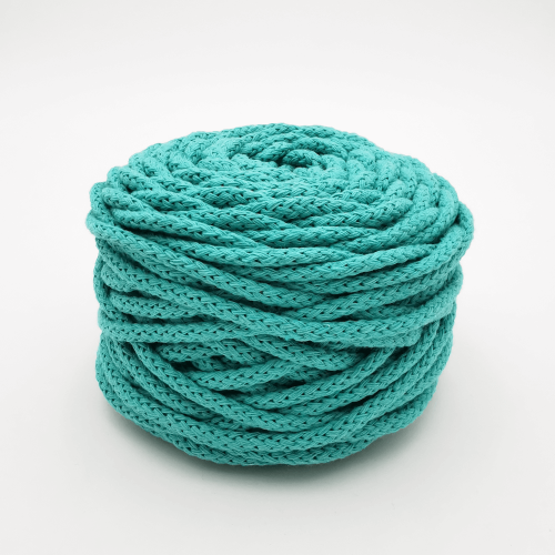 Coton Air 5mm Vert Turquoise 50m