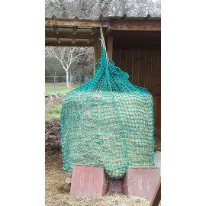 Red de heno Forma de ''Chaussette'' Verde