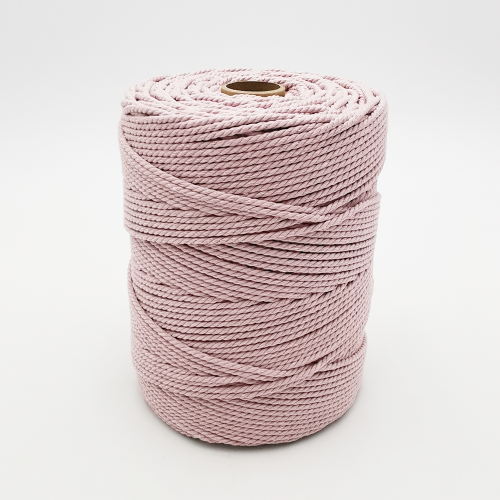 Recycled 3mm Cotton rope 1kg