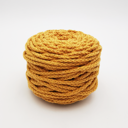 Coton Air 2,5mm Jaune Moutarde 50m