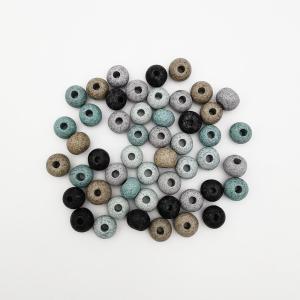 Perle Céramique Mat Artisanale