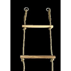 Escaleras de cuerda y madera - Gama Tradition