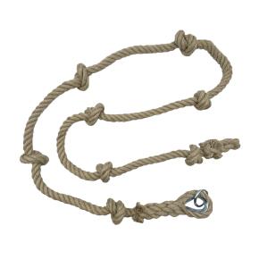 Corde à Noeuds à Grimper en Chanvre - Gamme Tradition