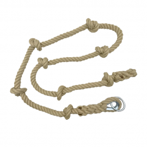 Corde à Nœuds à Grimper en Chanvre Synthétique