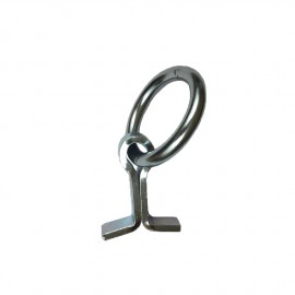 Stable Hitching ring AZ 300kg 50mmx35mm