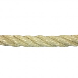 Polypropylene rope 10mm Beige 100m