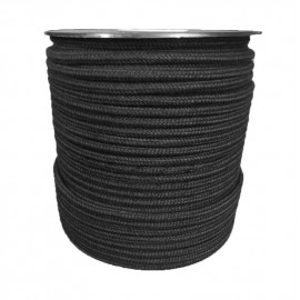Discontinuous Polyester Braid - Cotton Appearance