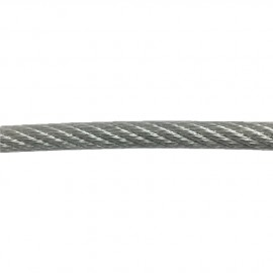 Cable de acero recubierto de plástico 8mm bobina de 100m