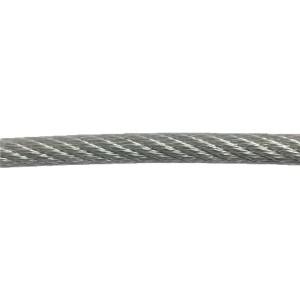 Câble Acier Plastifié PVC 4mm Au détail