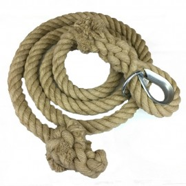 SMOOTH HEMP CLIMBING ROPE