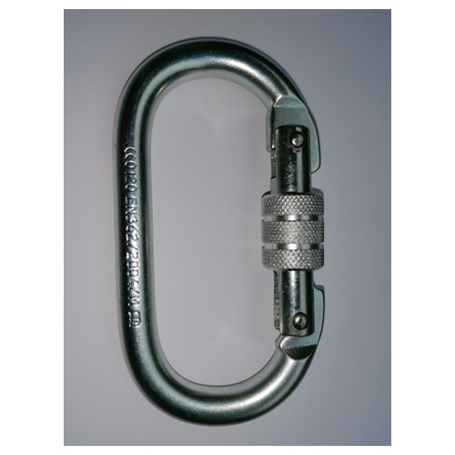 Safety Steel carabiner with eye bolt RR2200kg Standard EN362:2004/b